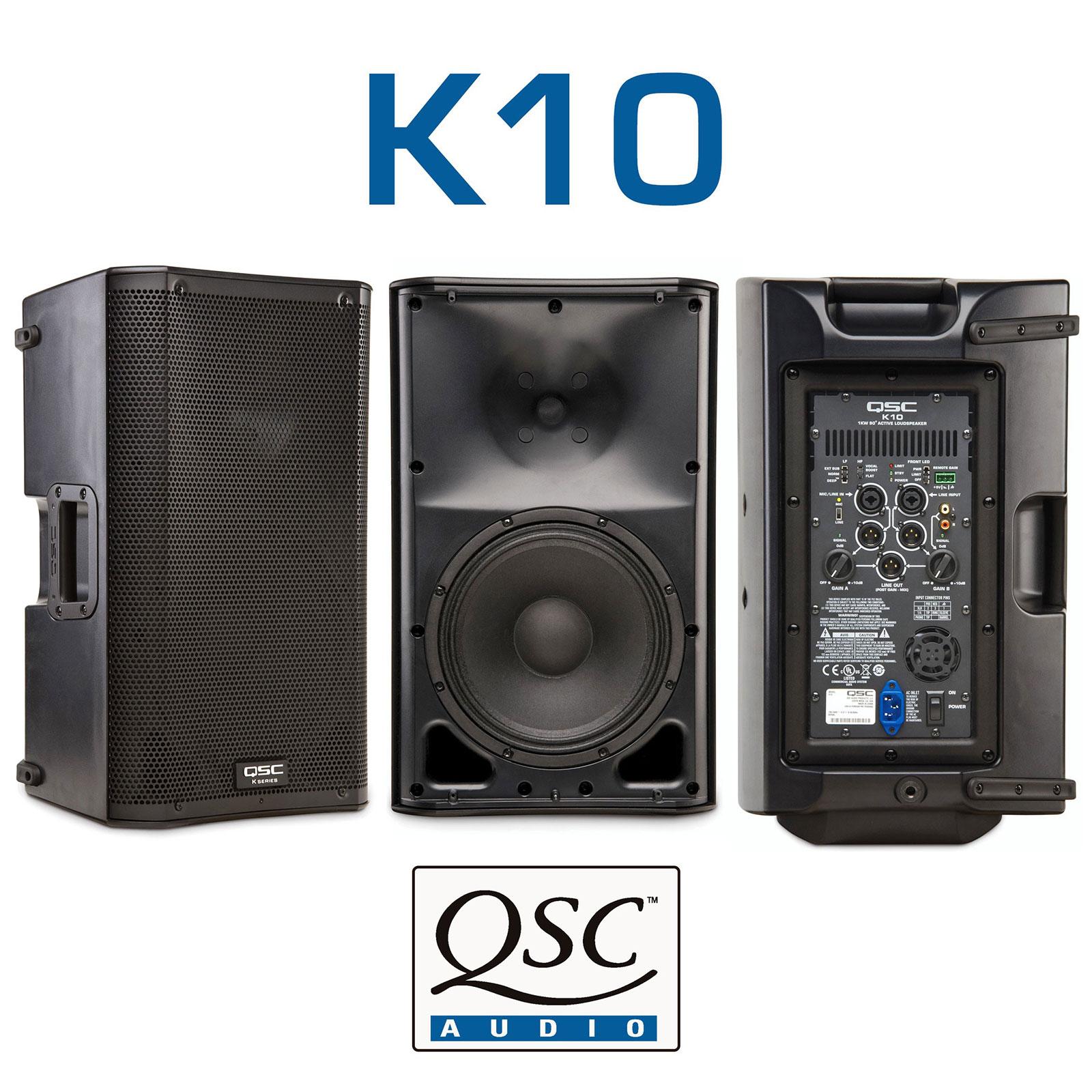 QSC K 10 Powered Speaker 80 Pair